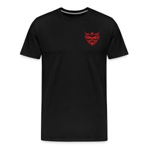 Devil Face Satans Memes Sweater - Mannen Premium T-shirt