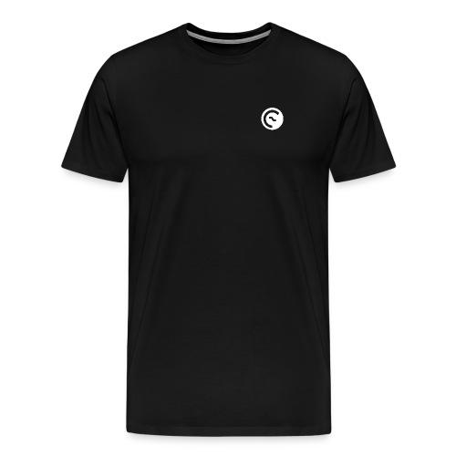 Eisbach Callin´ Logo Weiß - Männer Premium T-Shirt