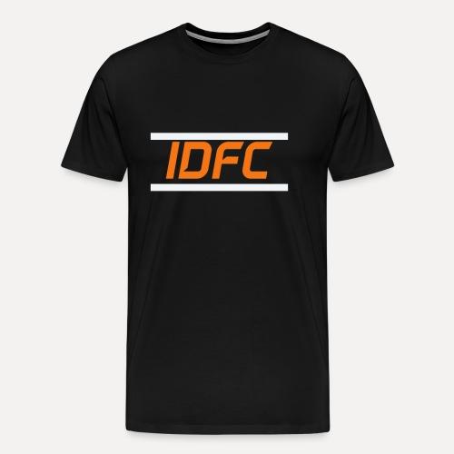 IDFC | Orange/White - Männer Premium T-Shirt