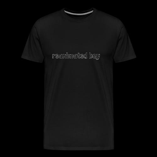 Reanimated boy logo - Men's Premium T-Shirt