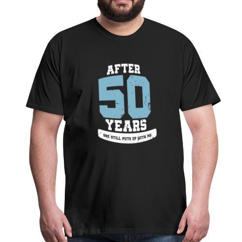 Ü50 Über 50 Jahre 50th - first - Männer Premium T-Shirt
