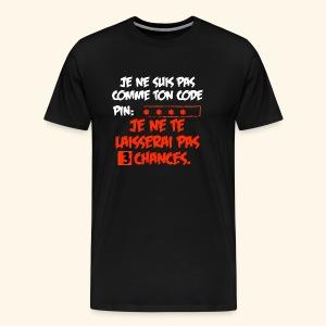 not pin - T-shirt Premium Homme
