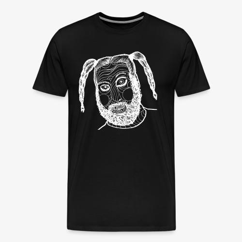 Das Kind Gesicht Neu weiß - Männer Premium T-Shirt
