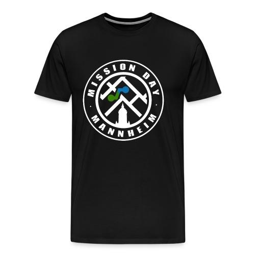 Mission Day Mannheim rund weiss - Männer Premium T-Shirt