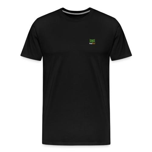 logo owl text large white - T-shirt Premium Homme