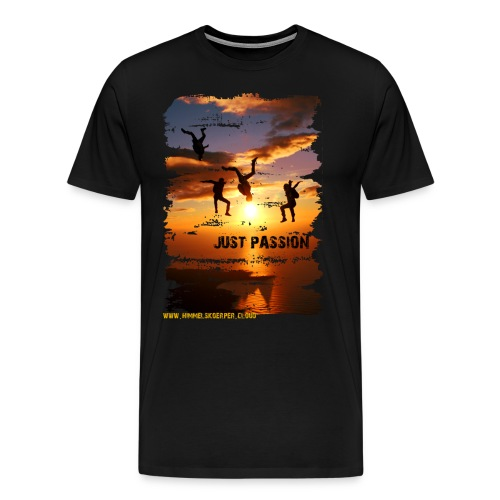 JUST PASSION - Männer Premium T-Shirt
