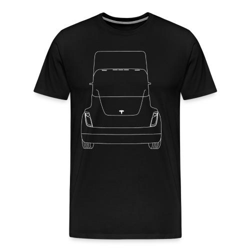 Tesla Truck - Mannen Premium T-shirt