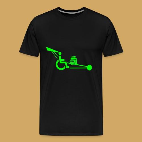 WheelchairV8 - Mannen Premium T-shirt