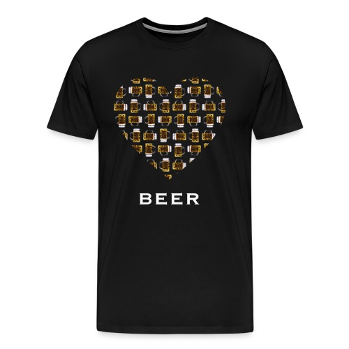 Love Beer - Männer Premium T-Shirt