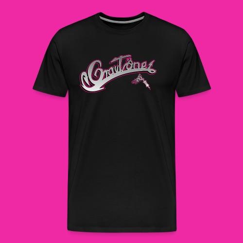 Logo Grautoene neu1 jpgshop - Männer Premium T-Shirt
