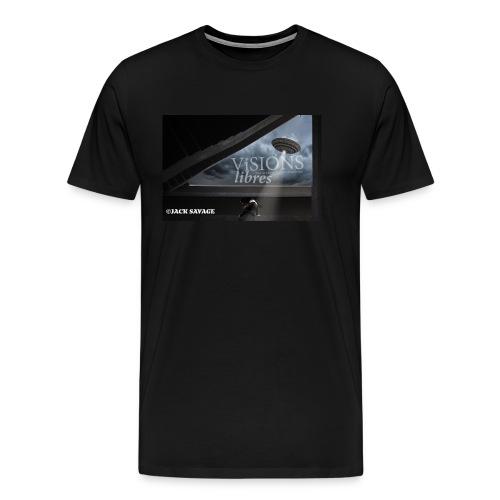 UFO by Jack Savage / Visions Libres Magazine - Männer Premium T-Shirt