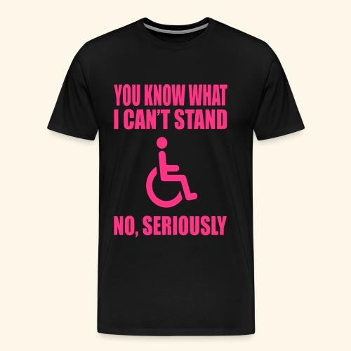 Can tstand1 - Mannen Premium T-shirt