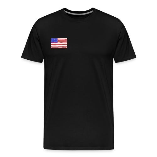 Usa- Flagge - Männer Premium T-Shirt