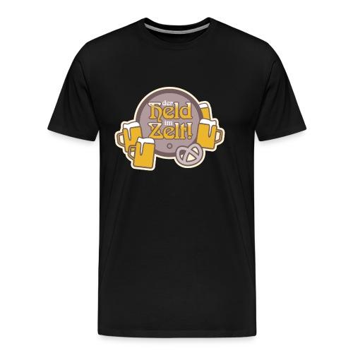 der Held im Zelt - Männer Premium T-Shirt