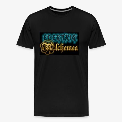Electric Alchemea Logo IVC Zwopper - Premium-T-shirt herr