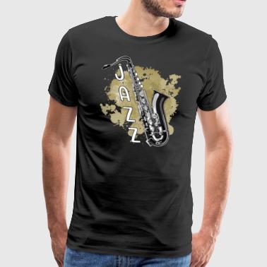 jazz - Miesten premium t-paita
