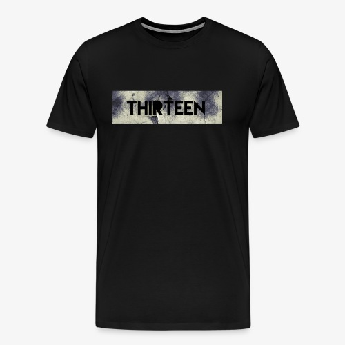 Box Logo Thirteen - Mannen Premium T-shirt