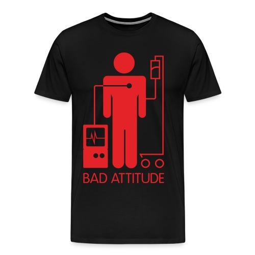 Bad Attitude Male - Men's Premium T-Shirt