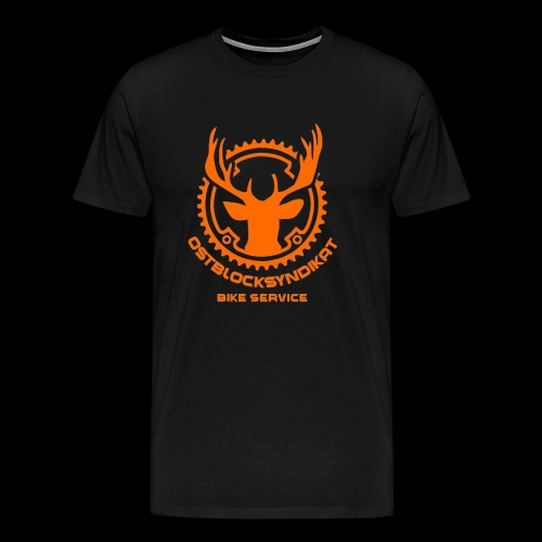 LOGO Orange - Männer Premium T-Shirt