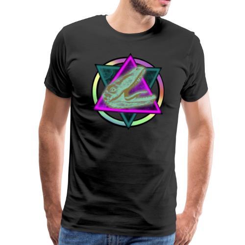 Weltraum Regenboden Raptor - Männer Premium T-Shirt