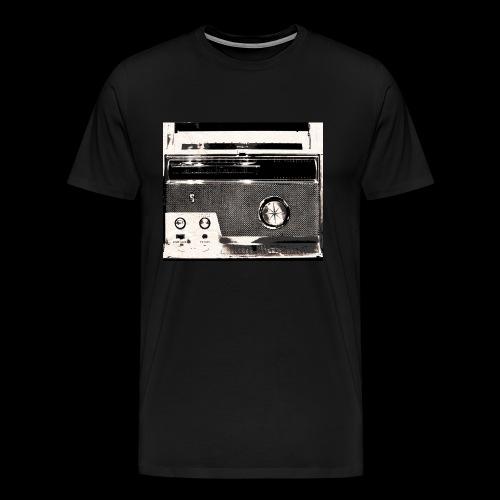 Radio Street Wear Design - Männer Premium T-Shirt