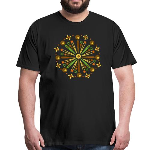 Mandala Herfst - Mannen Premium T-shirt