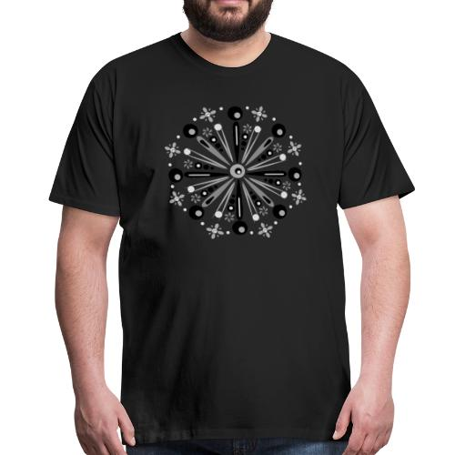 Mandala Winter - Mannen Premium T-shirt