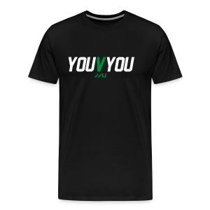 youVyou motivational fitness T-Shirt - Men's Premium T-Shirt