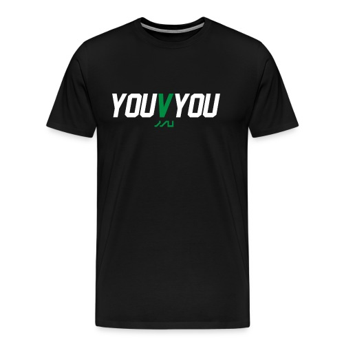 youVyou motivational fitness T-Shirt - Men's Premium T-Shirt