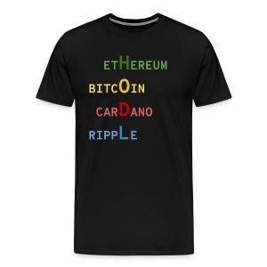 HODL color - T-shirt Premium Homme