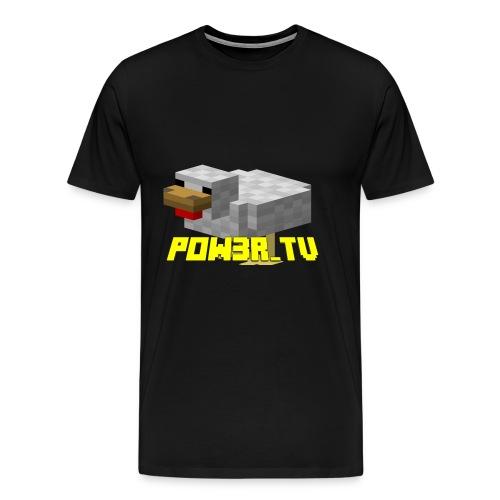 POW3R-GAIZ - Maglietta Premium da uomo