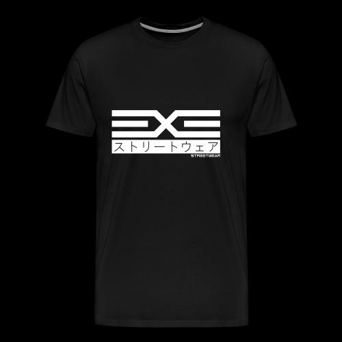 EXE Steetwear white - Männer Premium T-Shirt