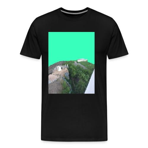 Köln Glitch - Männer Premium T-Shirt