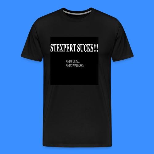 STEXPERT SUCKS ! - Männer Premium T-Shirt
