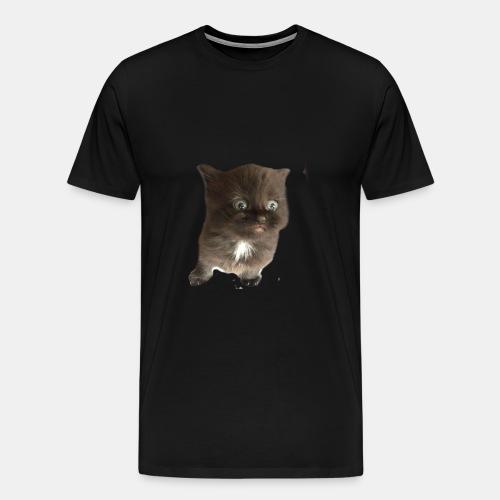 Scaredy Cat Oliver - Men's Premium T-Shirt