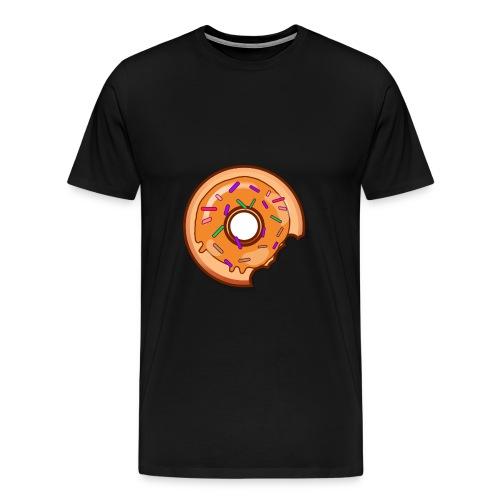 Where is one Part of my Donut? - Männer Premium T-Shirt