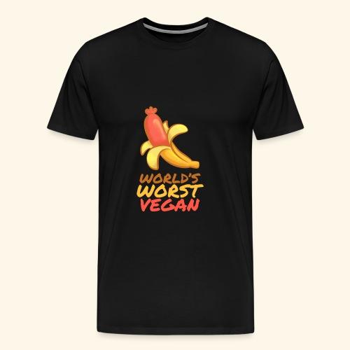 World's worst Vegan BBQ Shirt - Männer Premium T-Shirt