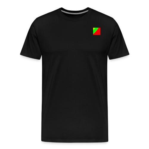 Lithuania Square - Men's Premium T-Shirt