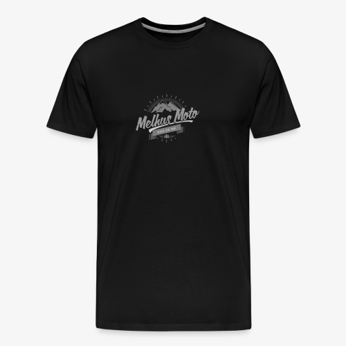 Melhus Moto Vintage Logo - Premium T-skjorte for menn