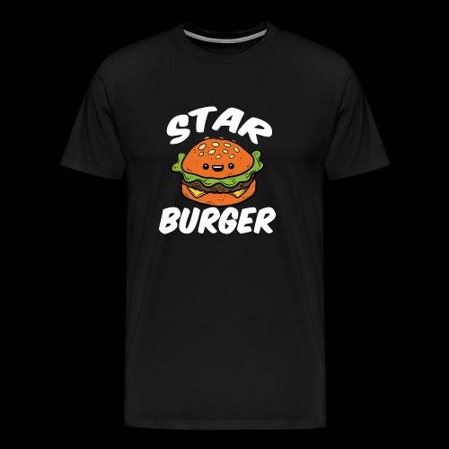 Star Burger Brand - Mannen Premium T-shirt