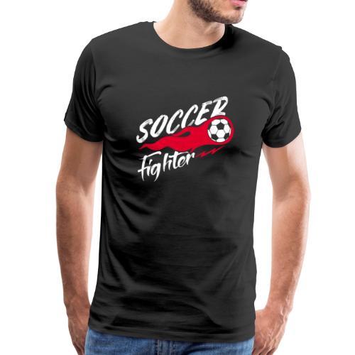 Soccer Fighter - Fußball Kämpfer - Männer Premium T-Shirt