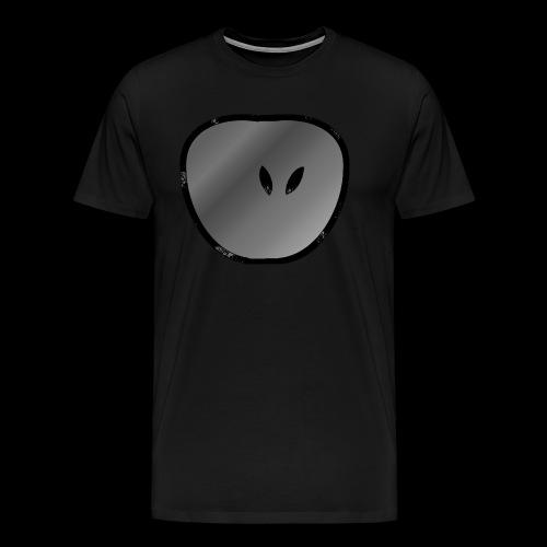 apple dark - Männer Premium T-Shirt
