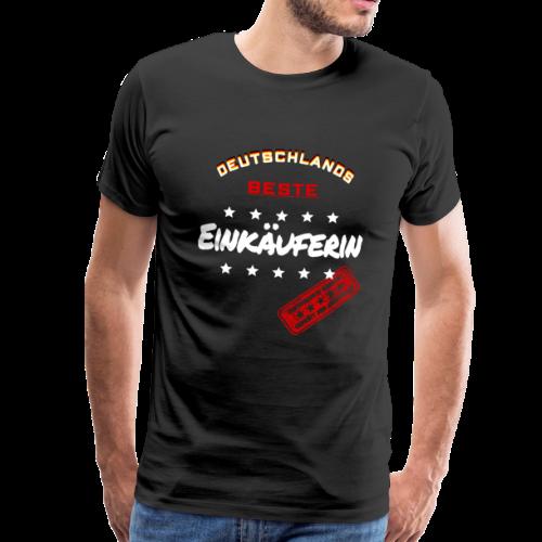 Deutschlands Beste Einkäuferin Weihnachtsgeschenk - Männer Premium T-Shirt