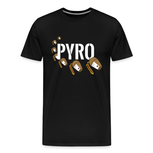 The PYRO Shell - Männer Premium T-Shirt