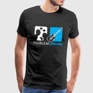 Bassisten Shirt-Problem Lösung - Männer Premium T-Shirt