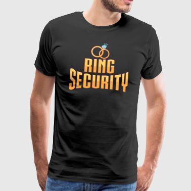 PIERŚCIEŃ ZABEZPIECZENIA - Koszulka męska Premium