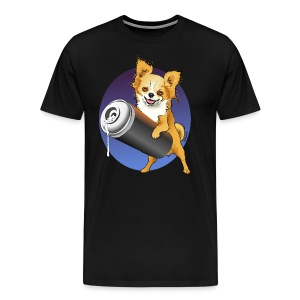 Chihuahua One Love Graffiti - Männer Premium T-Shirt