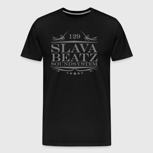 Slava Beatz Logo - Männer Premium T-Shirt