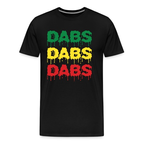 Dabs Dabs Dabs - Men's Premium T-Shirt