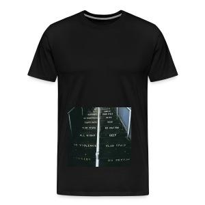 lawsoftechno - Mannen Premium T-shirt